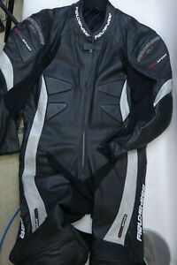 Fieldsheer Revo Sport Leather Motorcycle Racing Suit One Piece Men Size Large 44