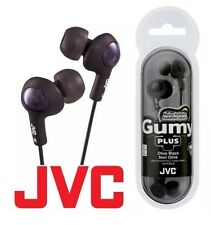 *New*!! JVC Gummy Plus Inner-Ear Headphones in Black SHIPS FREE!!