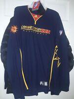 Connecticut Sun Warm-up Long Sleeve basketball Shirt Jersey WNBA Adidas NEW - L