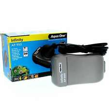 AP950 Infinity Air Pump Twin 2 x 280 L/Hr 11132 Fish Tank Aquarium Aqua One