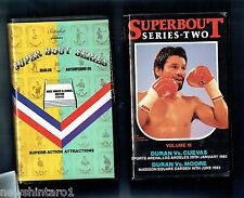 #LL.   TEN(10)  BOXING  VHS VIDEO TAPES