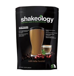 Shakeology Cafe Latte 30 day supply bag