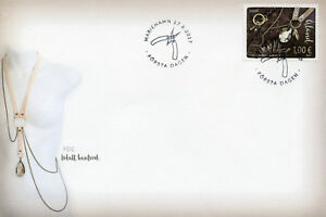 Aland 2017 FDC Local Crafts SEPAC Handicrafts 1v Cover Jewellery Design Stamps
