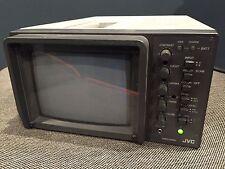 JVC TM-550U PROFESSIONAL COLOR MONITOR - USED NTSC / PAL PORTABLE CRT TELEVISION