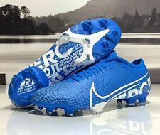 New listing NIKE MERCURIAL 360 VAPOR 13 PRO FG SOCCER CLEATS SIZE 11.5 BLUE WHITE AT7901-414
