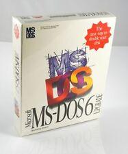 "(BOX, SEALED) Microsoft MS-DOS 6 Upgrade - 3.5"" Disks"