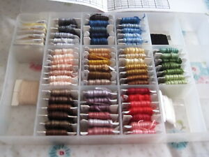 BOX OF MIXED STRANDED THREADS (A)