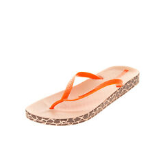 IPANEMA Flip Flop Sandals Size 38 UK 5 US 7 Rubber Textured Patterned Outsole