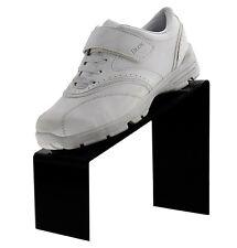 Black Slanted Shoe Acrylic Riser Display Holder Stand 9l X 4w X 7h