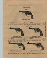1903 PAPER AD Colt's Police Positive Special Revolver Officers' Smith & Wesson