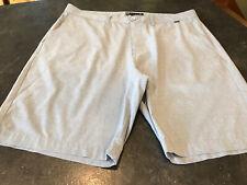 Men's Travis Mathew Blue Flat Front Chino Bermuda Shorts Size 38