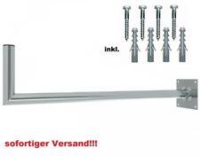 100 cm Wandhalter Stahl Wandabstand Wandhalterung SAT Spiegel Antenne Halterung