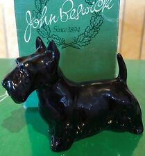 BESWICK DOG SCOTTIE MODEL 3382 BLACK GLOSS  PERFECT  BOXED