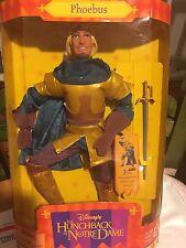Phoebus Disney Hunchback of Notre Dame Doll Mattel Esmeralda's boyfriend NEW 95