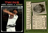 2020 Topps Heritage Base Chrome #THC-432 Eddie Rosario 605/999- Minnesota Twins