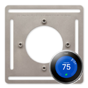 Steel Mounting Plate for Nest Learning Thermostat *** ORIGINAL ITEM ***