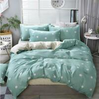 3D Lake Green White Dots KEP7135 Bed Pillowcases Quilt Duvet Cover Kay