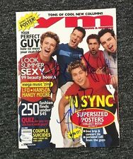 *NSync Signed YM  Magazine JSA