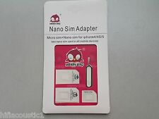 Nano SIM Card Micro Standard Adapter Adaptor In All mobile Phone devices Samsung