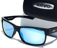 eabc3c647e NEW  REVO CAMDEN BLACK Satin w POLARIZED Blue Water Lens Sunglass 5011 01 BL