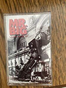 Vintage Mr. Big - Lean Into It 1991 Audio Cassette Tape
