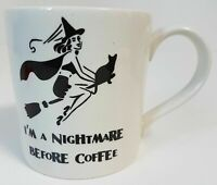 I'm A Nightmare Before Coffee Halloween Mug by Royal Stafford England ☕