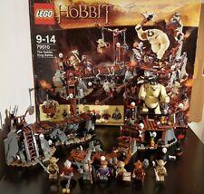 Lego 79010 El Hobbit Goblin King batalla 8 Minifiguras El Señor De Los Anillos