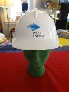 PECO ENERGY (Philadelphia Electric) Electric Utility Hard Boiled Helmet Sz 6.5-8