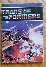 Catalog Transformers G1 1984