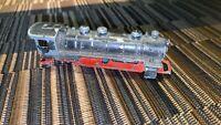 OLD VINTAGE METAL TRAIN  BLACK RED WEIGHTY SPARES REPAIR TOY 8CM