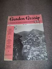 May 1948 Garden Gossip Bill Sharpe Margaret East Nelson Lena Gary Clark