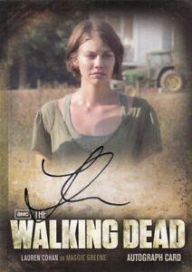 The Walking Dead Season 2 Lauren Cohan as Maggie Greene A9 Auto Card