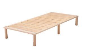 Gigapur G1 Holz-Bett Birke natur Komplettbett Bettgestell und Lattenrost