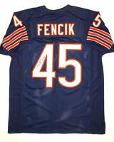 Gary Fencik Autographed Blue Pro Style Jersey With SB Insc- JSA Authenticated