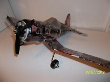Aluminum soda can handcrafted airplane/DIET DR.PEPPER AVENGERS (HAWKEYE)CORSAIR