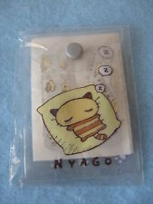 Sanrio Nyago Adhesive Bandages Set Z z z Gray Collectible Vintage '76, '02