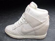 Nike air force dunk sky hi COMPENSES TALON COMPENSE 39 crème blanc gris Super état