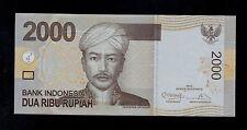 INDONESIA   2000 RUPIAH  2012/2009 BHN PICK # 148c  AU BANKNOTE