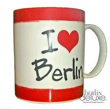Tasse I love Berlin - Bär m. Krone NEU/OVP Kaffeebecher Teetasse Souvenir Becher