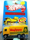 HOTWHEELS...VINTAGE < 1983 CARDED  < WORK HORSES < MAYFLOWER HIWAY HAULER