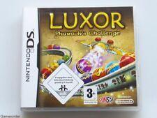 Luxor-Pharaon 'S CHALLENGE ~ Nintendo DS/DSi/3 DS/XL/2 DS/new 3 DS ~