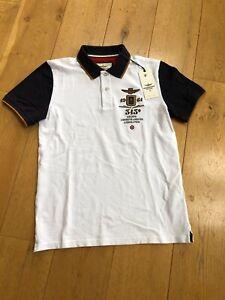 Aeronautica Militare Men's Polo Shirt White