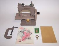 Vintage Beige Singer SewHandy A Real Sewing Machine w/Box & Instructions NIB