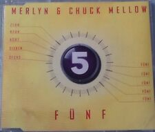 Maxi-CD Merlyn & Chuck Mellow - Fünf (1998) 5 verschiedene Versionen