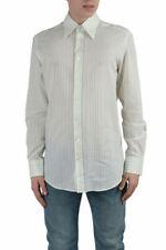 "Dolce & Gabbana ""Slim Fit"" Men's Multi-Color Striped Dress Shirts US 16 17"