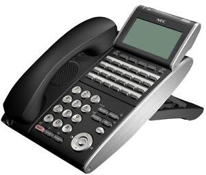 NEC DT700 IP Phone ITL-24DG-3A(BK) | GIGABIT VERSION | For SV8100 & SV9100 PBX