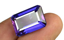 100% Natural Color Changing Sapphire Gemstone 20.55 Ct Octagon Certified C1810