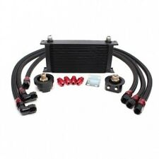 BMW M3 M5 M6 E90 19 Row Oil Cooler Kit with Oil Filter Relocation Kit Bar Plate