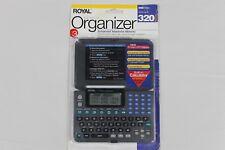 Royal DM70ex Electronic Organizer with Built In Calculator Memo Alarm Scheduler