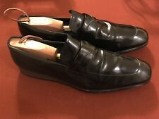 7958414d190ea Tod's Mens Black Leather Slip-On Dress/Loafers/Driving Moccasins sz 12
